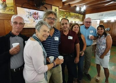 John DeBlassio, Mary Lou Einloth, Pete Kernam, Steve Franz, Sue Cambridge Headley, Bruce Carney, Irna DeLeon-Knapp