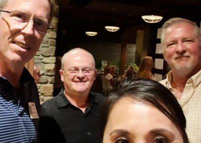 Jim Van Huyck, Barth Olds, Irna DeLeon-Knapp, Frank Katz