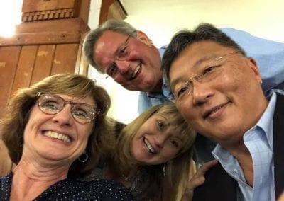 Michelle Schneider Tiller, Randy Kruchten, Lisa Leuzinger, Chong Park