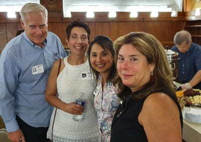 Jim Kennedy, Jamie Runco, Irna DeLeon-Knapp, Sue Cambridge Headley