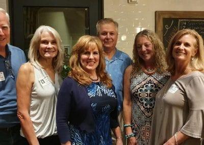 Jim Kennedy, Barb Kash Joyce, Lisa McSteen, Jeff Joyce, Janet Bogush Kluck, Jane Keith Beuerlein