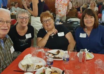 George McClintock, Ann Gladden, Obbie McClintock, Barbara Pritchard Carney