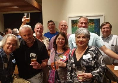Tim Pike, John Lloyd, Frank Katz, Jack Gove, Irene Poulos Testa, Clark Suckling, Georgia Marlowe, Scott Vollmer, Mike Kender