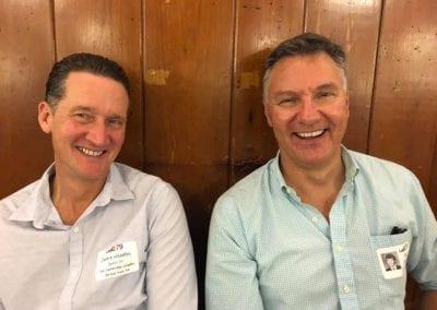 Jamie Headley, Ken Moir