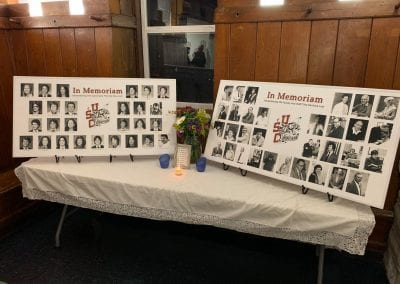 The 'In Memoriam' Table