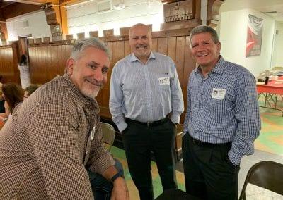 Dave Miller, Bob Kirkpatrick, Frank Fera