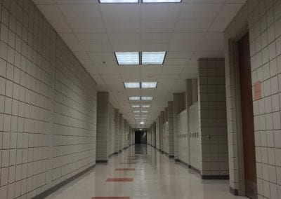 I doubt that these hallways are this quiet on a typical school day!